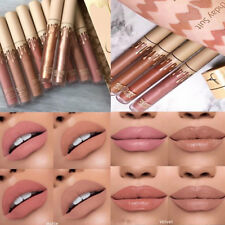 Sexy Women's 4Pcs Waterproof Lip Liquid Long Lasting Lip Gloss Lipstick Set Kit