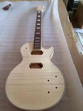 New top grade Unfinished electric guitar body with neck  No.08238