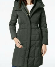 BNWT ORIGINAL Cole Haan Layered Down Puffer Coat.UK SIZE XXS , TAG PRICE £205