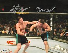 Forrest Griffin Stephan Bonnar Signed 11x14 Photo BAS COA UFC Picture Autograph