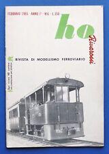 Modellismo Ferroviario - Rivista Rivarossi HO - Anno I - N° 6 - 1955