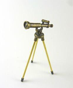 Dollhouse Miniature Telescope w/ Tripod Legs, S1906