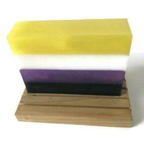 Non-binary Flag Soap - LGBTQ Pride Soap Bar - Coconut Lime Verbena