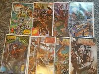 Rob Liefeld's Prophet Lot of 9 Comic Books with VARIANT COVERS