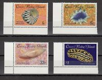 TIMBRE STAMP 4 ILES COCOS Y&T#134-37 COQUILLAGE SHELL NEUF**/MNH-MINT 1985 ~A53