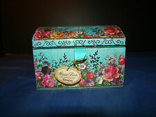 Molly and Rex Music Box with Two Jasmine Scented Soaps Unopened - Blue Danube.