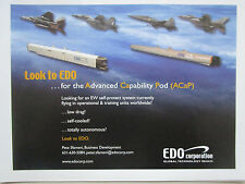 6/2007 pub edo Corporation ACAP advanced capability pod f-15 f-16 f-18 f-20 ad