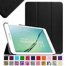 "Slim Lightweight Case Stand Cover for Samsung Galaxy Tab S2 9.7"" Auto Sleep/Wake"