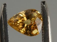 "Australian Faceted Natural Yellow Sapphire 1.33 ct ""Stunning_Gemstones"""