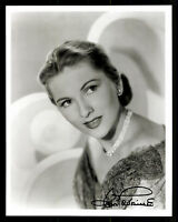 Joan Fontaine Foto Original Signiert + G 8229