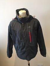 Mens Gill Jacket Size S Inshore Winter Jacket Grey Hood Waterproof Active Jacket