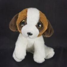 "Russ Yomiko Classics St. Bernard Belt Clip Backpack Dog Puppy 4"" Plush Stuffed"