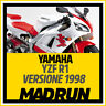 Kit Adesivi YAMAHA YZF R1 -1998 - Factory Stickers - High Quality Decals