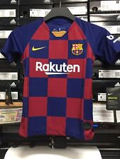 Nike Fc Barcelona Home Jersey 19/20 Blue Red Boys/girls Unisex Youth Small Only