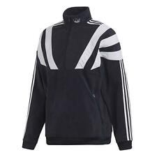 Adidas Originals HOMBRE Balanta 96 Polar Chaqueta Chándal 3 Rayas Trébol Marino