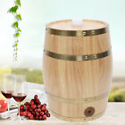 Upright 5 L Wood Pine Timber Wine Barrel For Whiskey Rum Port Wooden Keg Stand