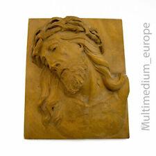 Oberammergau Holz Schnitzerei Jesus Dornenkrone wood figure carved 🌺🌺🌺🌺🌺