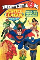 I Can Read Level 2 Justice League Meet the Justice League FREE Shipping $35