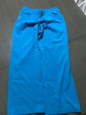 NrG By Barco Stretch Scrubs Womens Pants Size Large, Teal