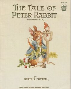 THE TALE OF PETER RABBIT CROSS STITCH BOOKLET