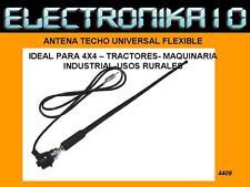 ANTENA COCHE  FLEXIBLE 4X4 -TRACTOR-MAQUINARIA-nautica-FM FLEX AM