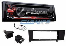 NEW JVC CAR STEREO RADIO CD PLAYER & AUX W COMPLETE INSTALL KIT FOR BMW 3-SERIES