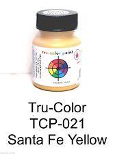 Tru-Color TCP-021 ATSF Santa Fe Yellow 1 oz Paint Bottle
