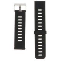 Cinturino per cinturino in silicone alternato 22mm per amazfit nero e grigio