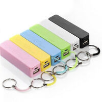 Portable 2600mAh USB External Power Bank Case Pack Box 18650 Battery Charger RH