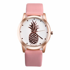 Fashion New Women Stainless Steel Pineapple Watches Quartz Analog Wrist Watch