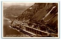 Vintage Picture Postcard Pen Y Clip Viaduct and Tunnel North Wales real photo