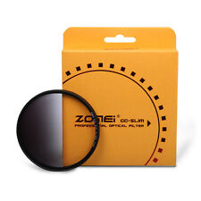 Zomei 52/55/58/62/67/72/77/82mm ND Filter Slim Graduated Grey Neutral Density