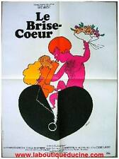 LE BRISE COEUR Affiche Cinéma / Movie Poster ELAINE MAY / CHARLES GRODIN