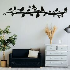 Metal Wall Decor, Birds on Branch Metal Birds Wall Art Birds Sign Wall Art 5343