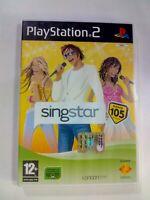 SINGSTAR RADIO 105 SONY PS2 Playstation 2 GIOCO VIDEOGIOCO PAL VIDEOGAME