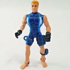 """Chap Mei Scuba Diver Action Figure Blonde Hair Blue Suit 4"""""""