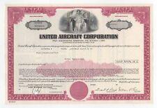 United Aircraft Corporation Bond