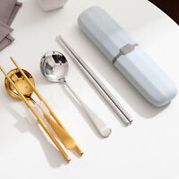 Portable Tableware Case Cutlery Chopsticks Spoon Fork Bag Holder Travel Picnic