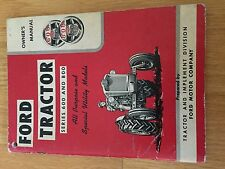 NEW HOLLAND FORD OPERATOR TRACTOR MANUAL 600 800 operator's