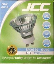 JCC GU10 50W Halogen Light Lamp Bulb 240V Spot Light Down Light
