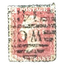 Great Britain Qv 1864-79, 1 penny red Kr/Rk Stamp Used