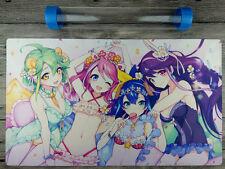 Yu-Gi-Oh! ARC-V Heroines Playmat  Anime Custom TCG DIY Mat Free High Best Tube