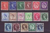 England Großbritannien Nr.   282-98   gest.  Queen Elizabeth II