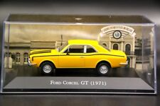 Altaya 1:43 Scale Ford Corcel GT 1971 Diecast Models Cars Auto Collection Yellow