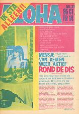MAGAZINE ALOHA 1973 nr. 21 - GENE CLARK / PAUL MEIER SHOW / DEEP PURPLE