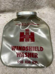 Vintage International Harvester Windshield Washer Bag Car Truck NOS mint