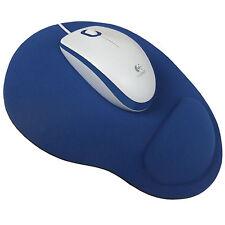 Mauspad mit Schaumstoff Handauflage Mousepad ergonomisches Maus Pad blau