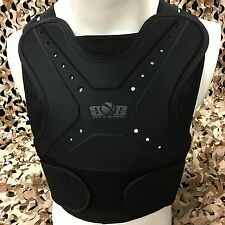 NEW Gen X Global GxG Paintball & Airsoft Chest Protector Body Armor - Black