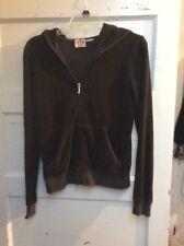 Juicy Couture zip brown   hoodie size  Xlarge KWW