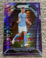 2020-21 Panini Prizm TOMMY DOYLE RC 38/99 Purple MANCHESTER CITY Premier League